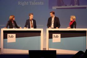 Panel Diskussion zum Thema Digitalisierung und War for Talent